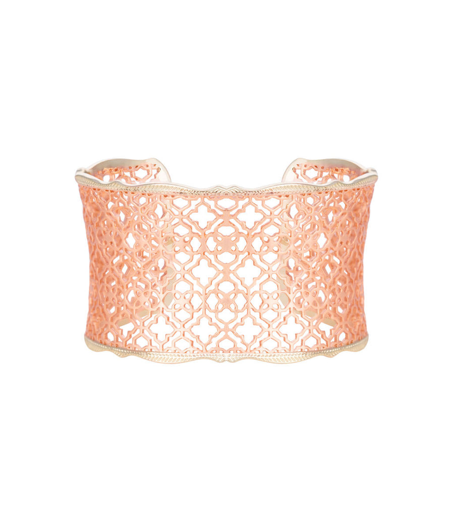 Kendra Scott Candice Cuff Bracelet Rose Gold
