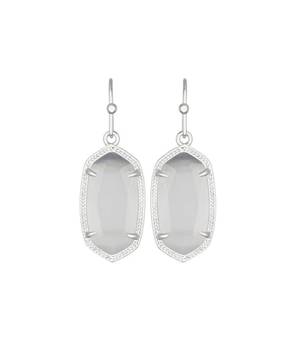 Kendra Scott Dani Earring in Slate Cats Eye