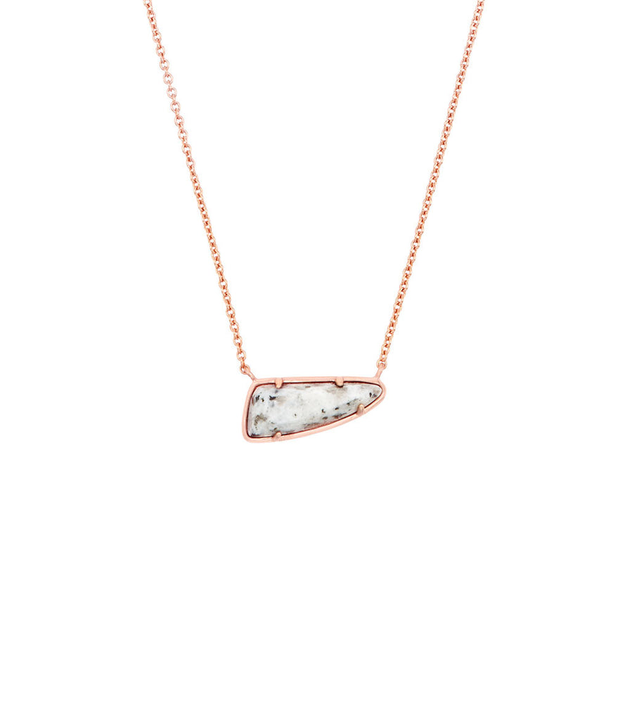 Kendra Scott Etta Pendant Necklace In Gray Granite