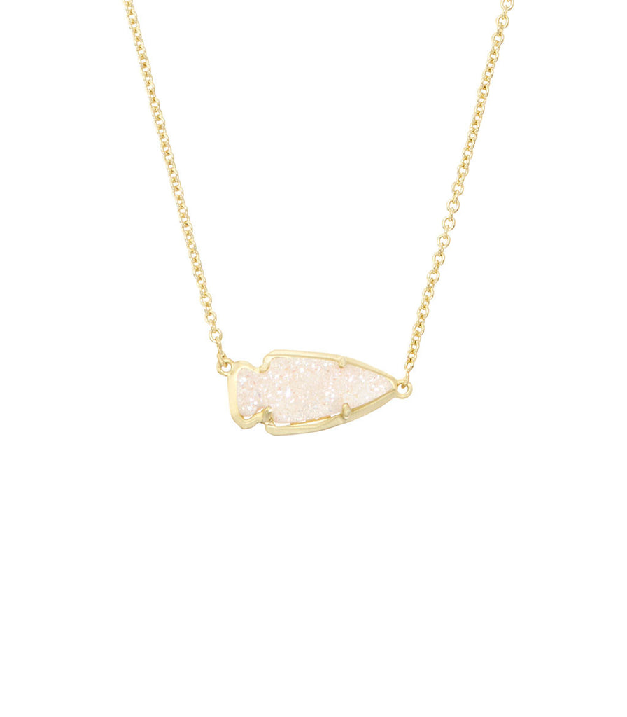 Kendra Scott Kasey Pendant Necklace In Iridescent Drusy