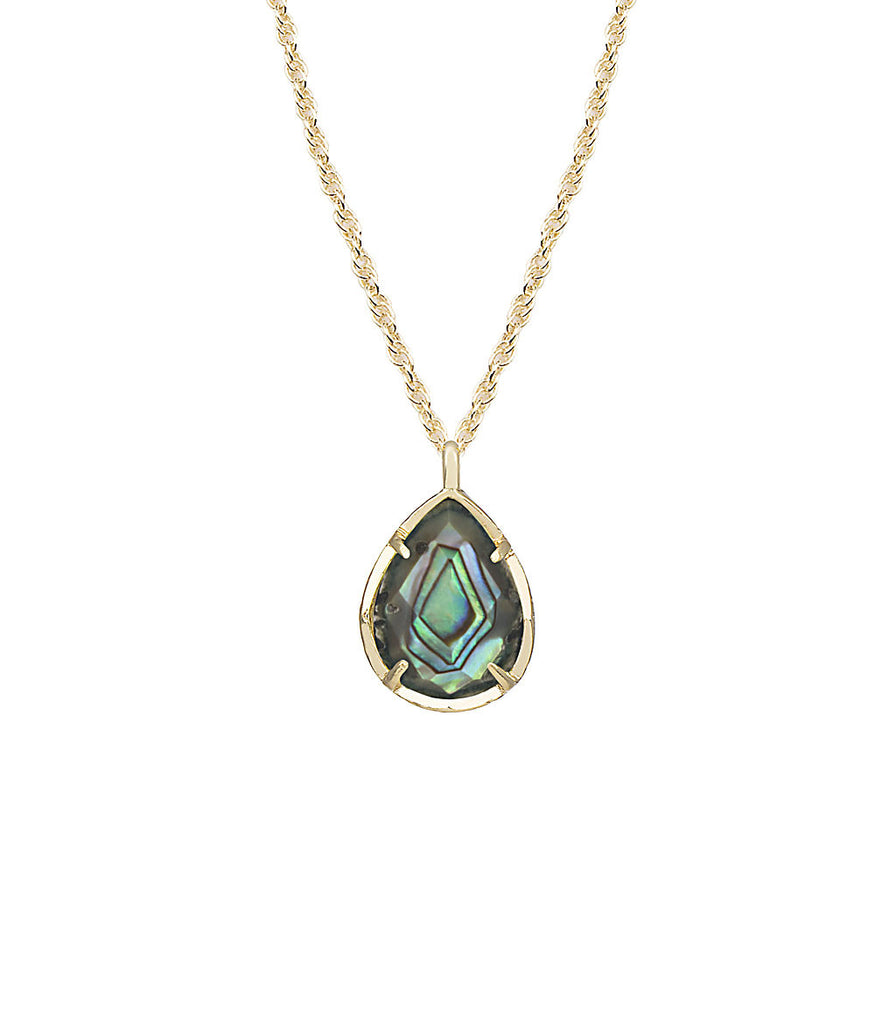 Kendra Scott Kiri Necklace In Abalone Shell