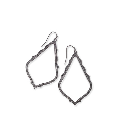 Kendra Scott Sophee Drop Earrings In Gunmetal