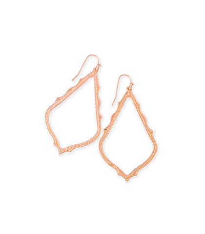 Kendra Scott Sophee Drop Earrings In Rose Gold