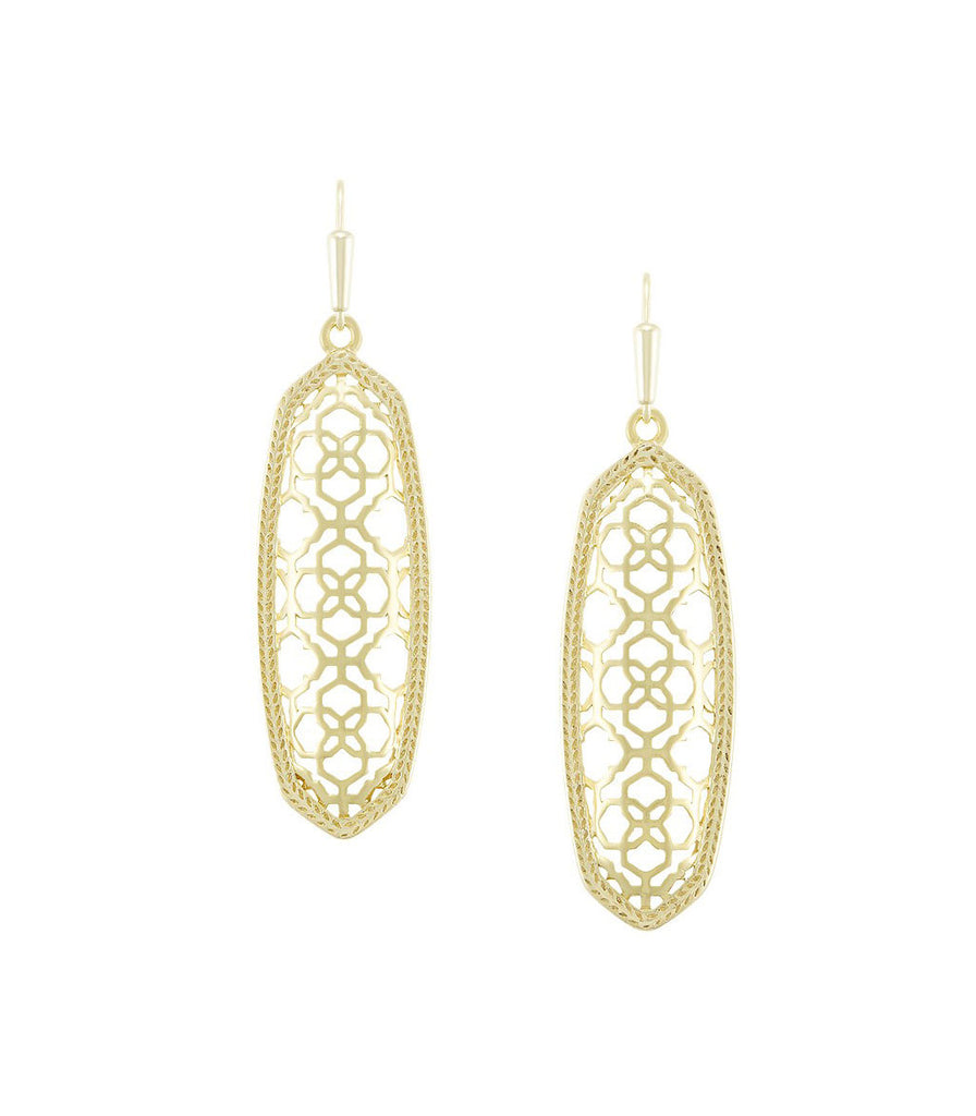 Kendra Scott Brenna Earrings in Gold