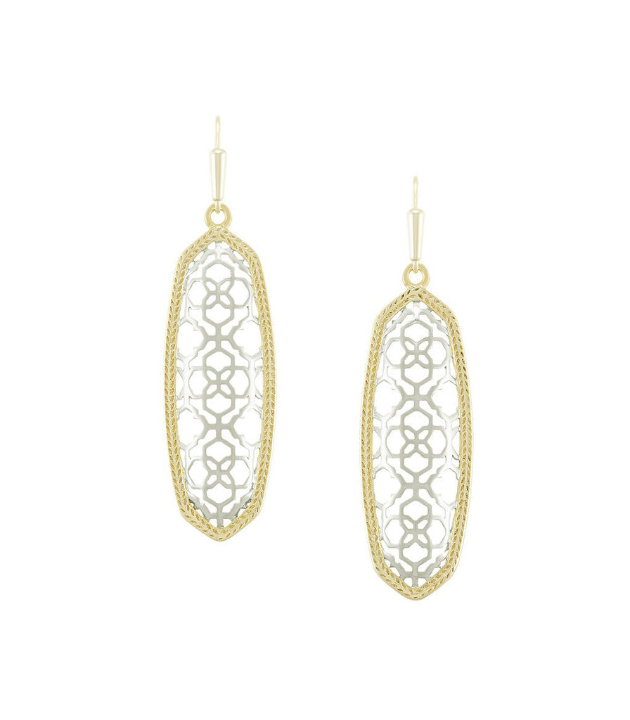 Kendra Scott Brenna Earrings in Silver