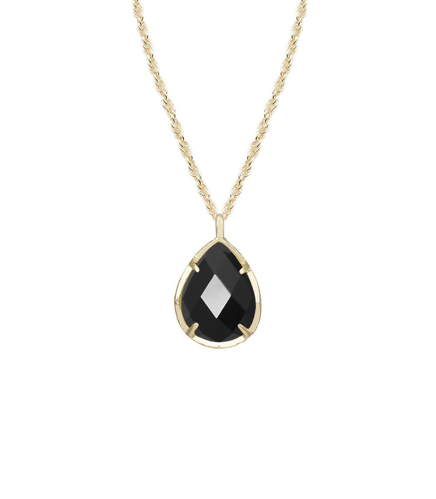 Kendra Scott Kiri Necklace In Black Gold