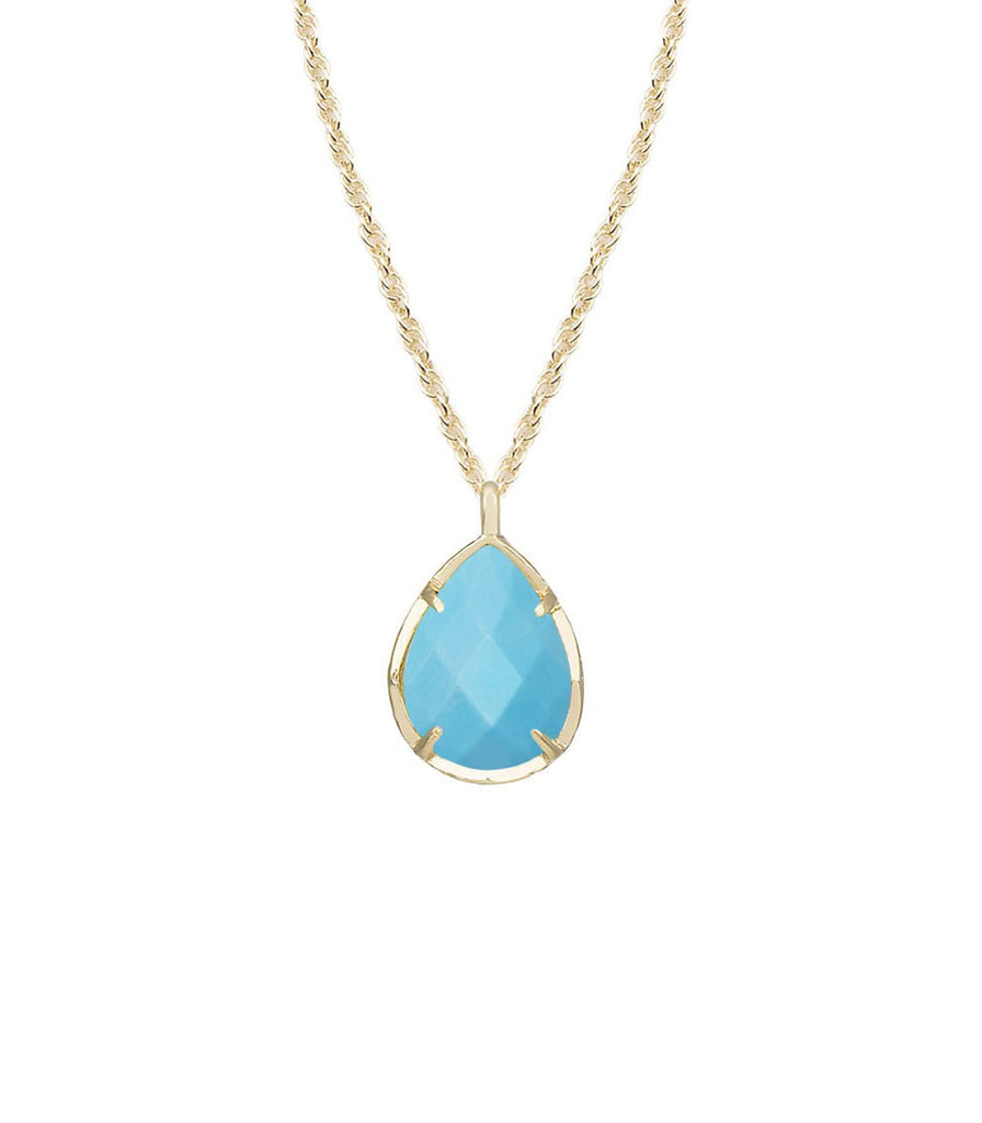 Kendra Scott Kiri Necklace In Turquoise