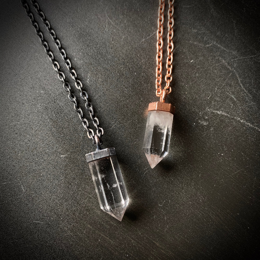 Load image into Gallery viewer, Mini Quartz Necklace