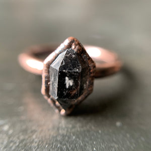 PHANTOM QUARTZ RING, VARIOUS SIZES