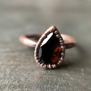Load image into Gallery viewer, SMOKY QUARTZ RING, SIZE 7
