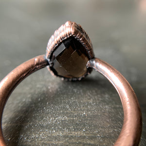 Load image into Gallery viewer, SMOKY QUARTZ RING, SIZE 9.5