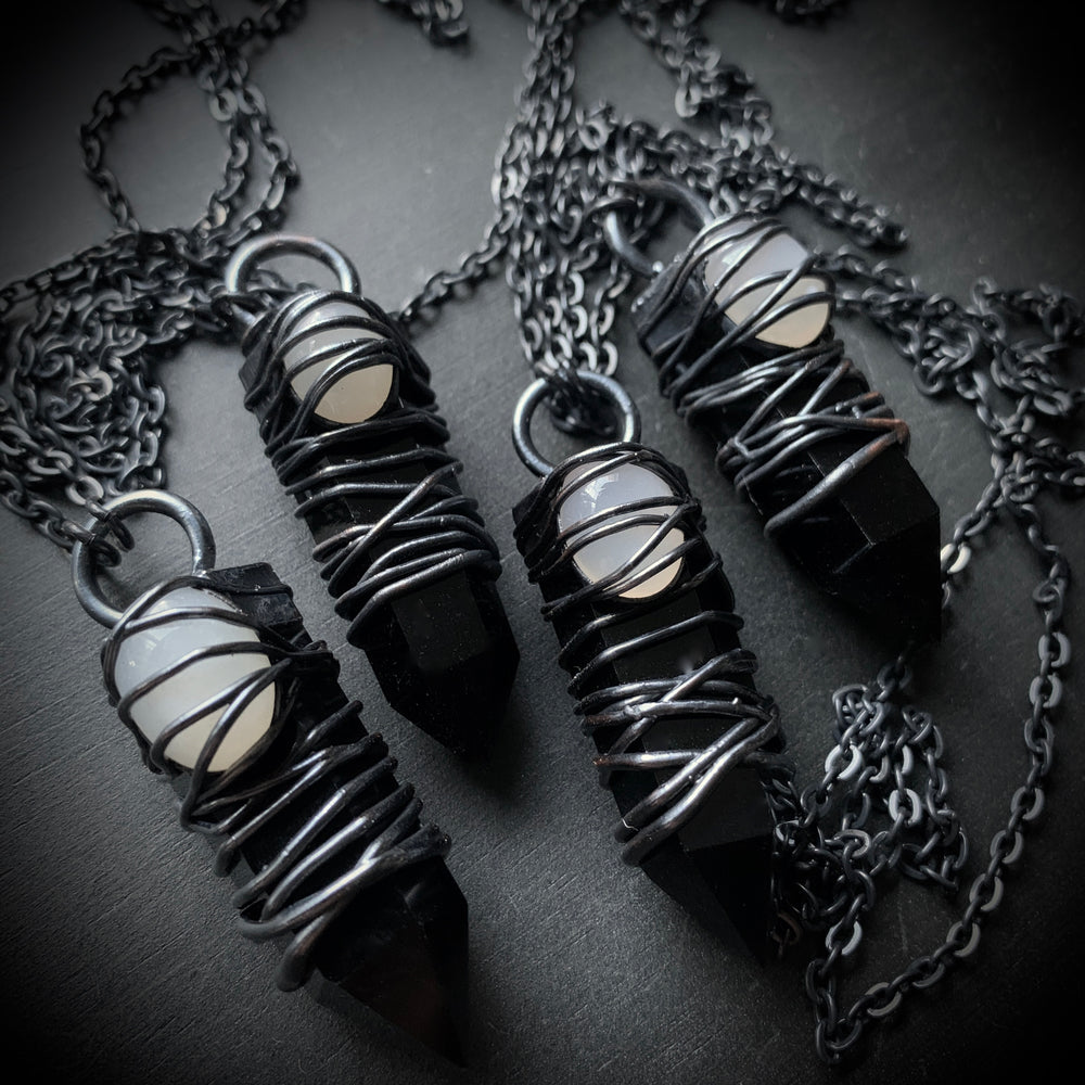 Doom Witch Collection | Obsidian + Moonstone
