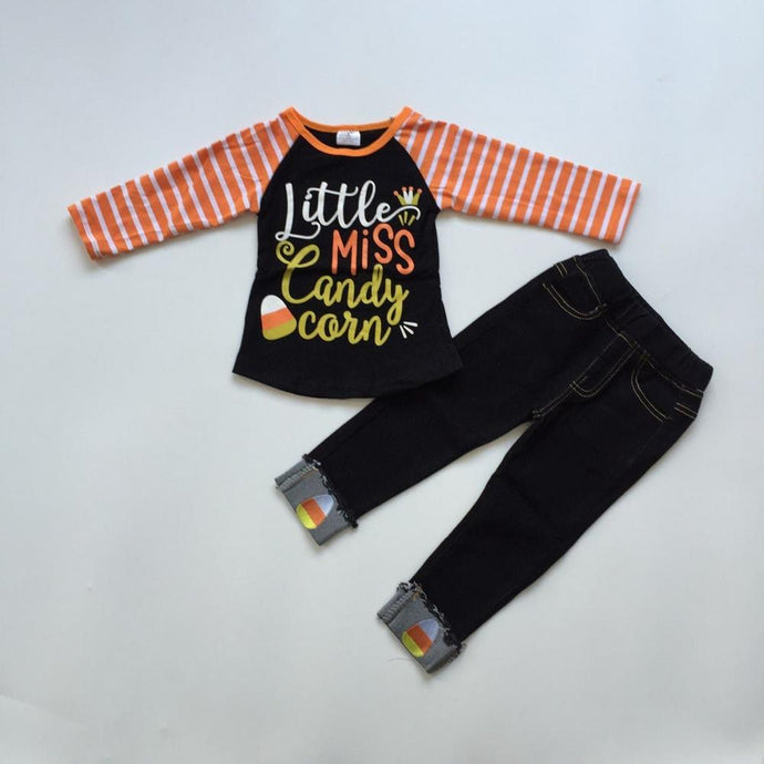 Miss Candy Raglan Shirt with Pants