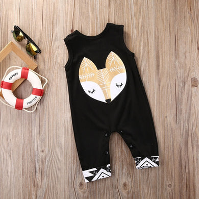 Sleepy Fox Romper