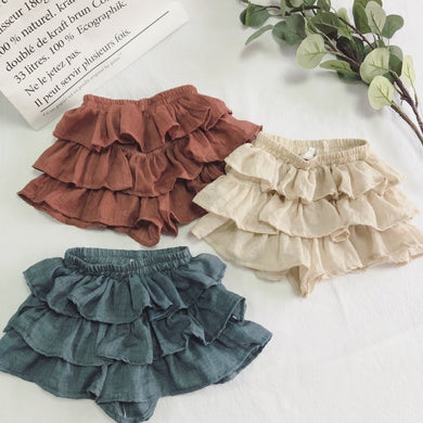 Evelyn Ruffle Skirts