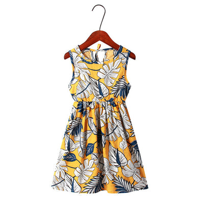 Sunset Palms Sundress