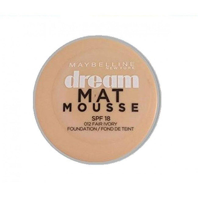 Maybelline Dream Matte Mousse Foundation 012 Fair Ivory SPF 15