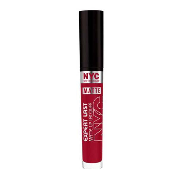 NYC New York Color Expert Last Lip Lacquer 810 Riverdale Matte Red