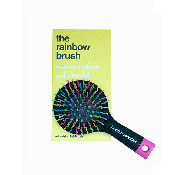 BEAUTY ESSENTIALS Rainbow Hairbrush