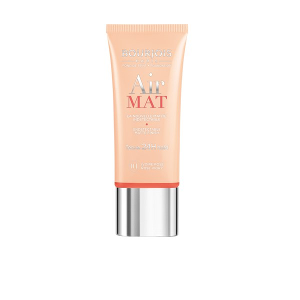 Bourjois Air Mat 24H Hold Foundation 01 Rose Ivory