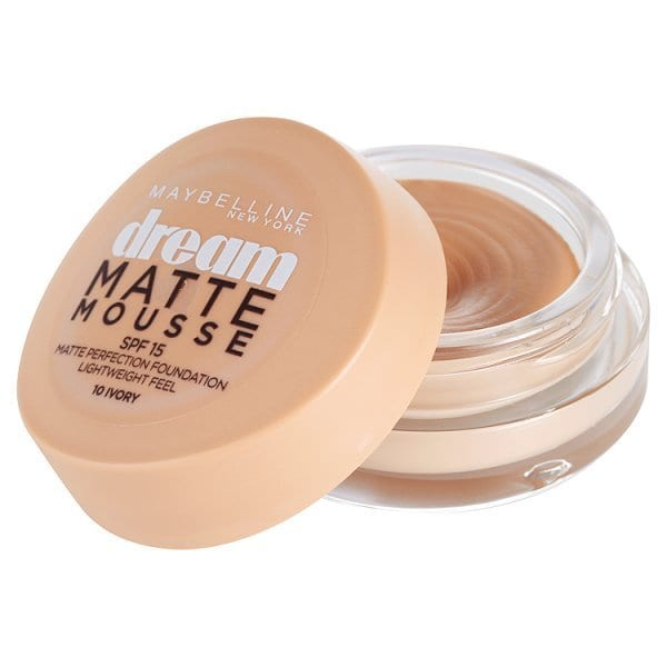 Maybelline Dream Matte Mousse Foundation 10 Ivory SPF 15