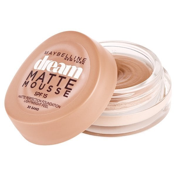 Maybelline Dream Matte Mousse Foundation 30 Sand SPF 15