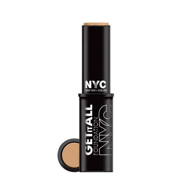 NYC New York Color Get It All Foundation 102 Natural  Beige