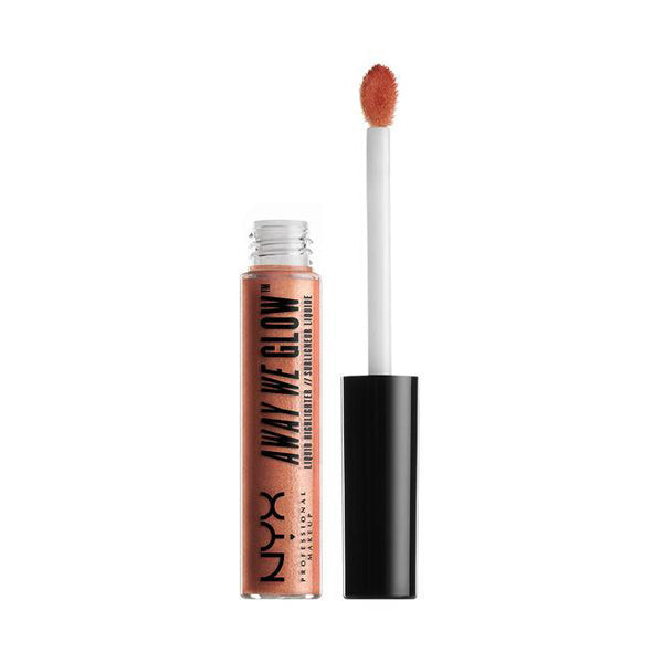NYX Away We Glow Liquid Highlighter Rose Quartz