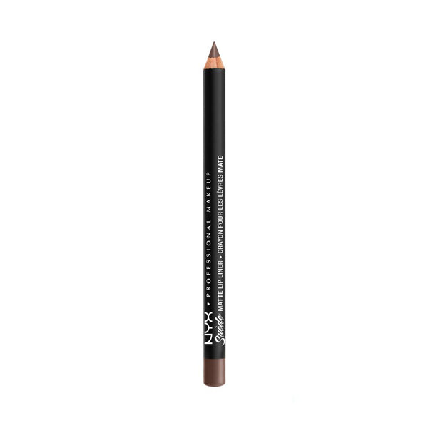 NYX Suede Matte Lip Liner Brooklyn Thorn