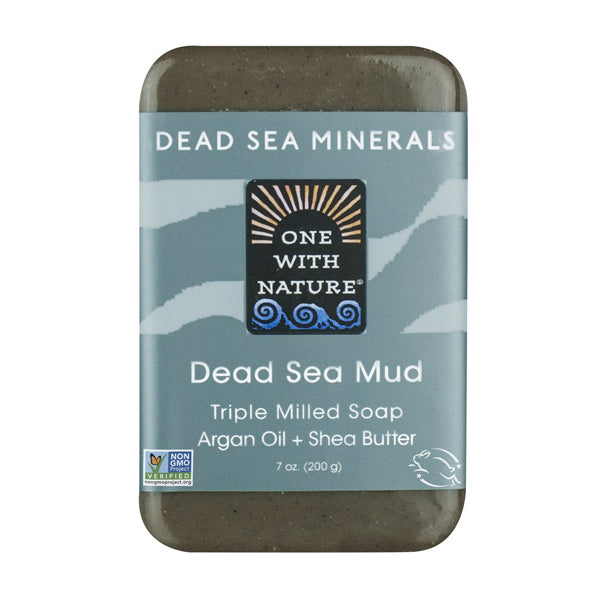 One with Nature Dead Sea Mud Soap 200g