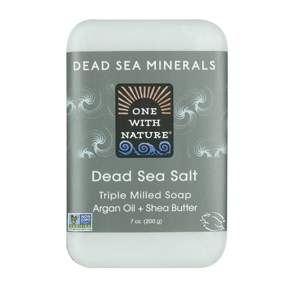 One with Nature Dead Sea Salt Bar Soap 200g