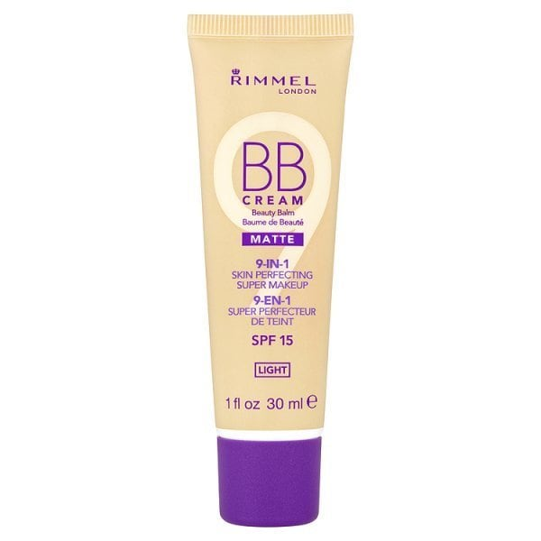 Rimmel London BB Cream SPF 15 Matte 9 in 1 Light 30ml