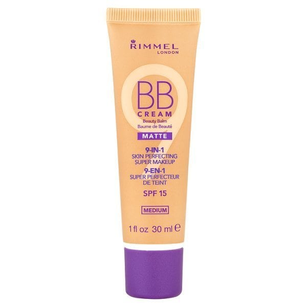 Rimmel London BB Cream SPF 15 Matte 9 in 1 Medium 30ml