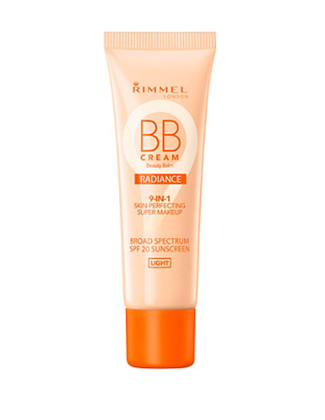 Rimmel London BB Cream SPF 20 Radiance 9 in 1 Light 30ml