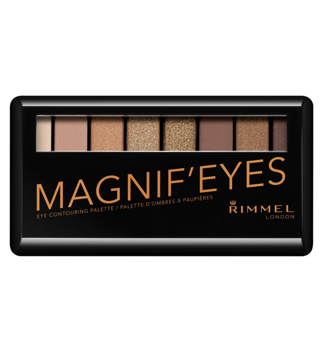 Rimmel Magnif'eyes Eye Cotouring Palette 001 Keep Calm and Wear Gold