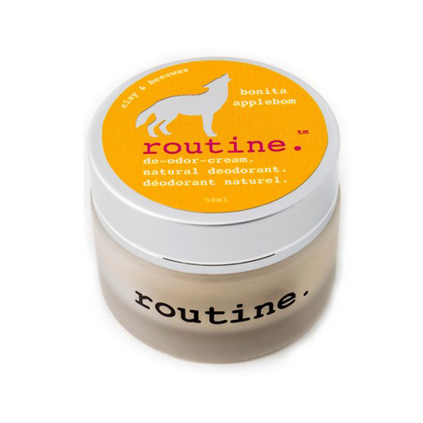 Routine Cream Natural Deodorant 'Bonita Applebom' 58ml