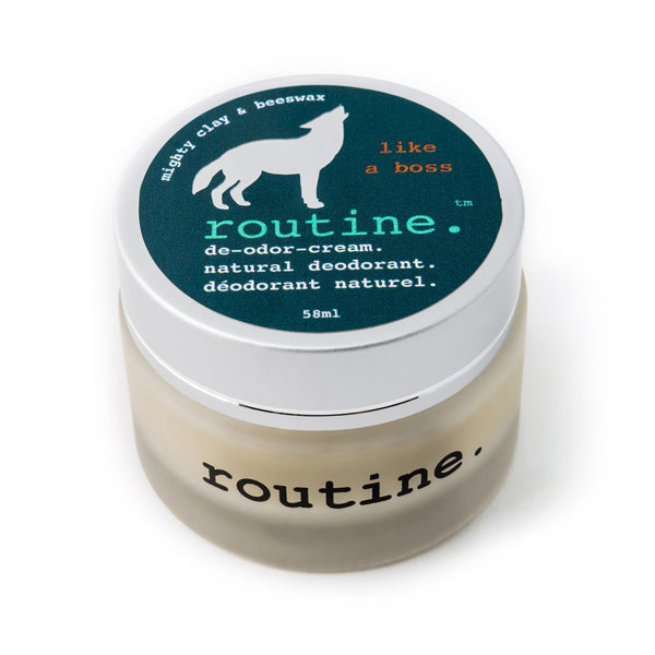 Routine Cream Natural Deodorant 'Like a Boss' 58ml