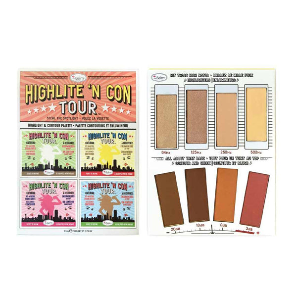 the Balm Highlite 'N Con Tour Steal the Spotlight Highlight and Contour Palette