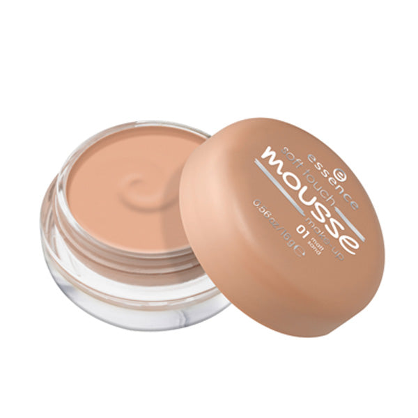 essence Soft Touch Mousse Make-up 01 Matt Sand