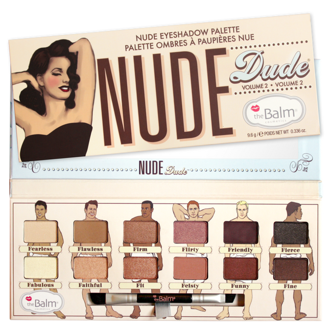 The Balm Nude Dude - Nude Eyeshadow Palette Vol 2