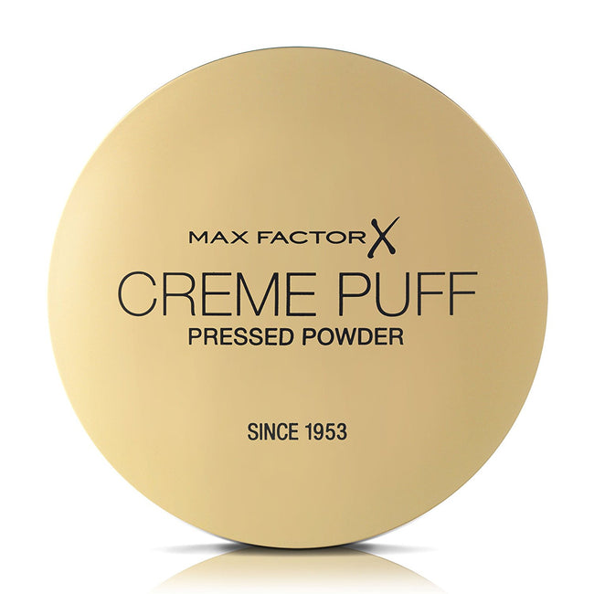 Max Factor Creme Puff Pressed Compact Powder 42 Deep Beige