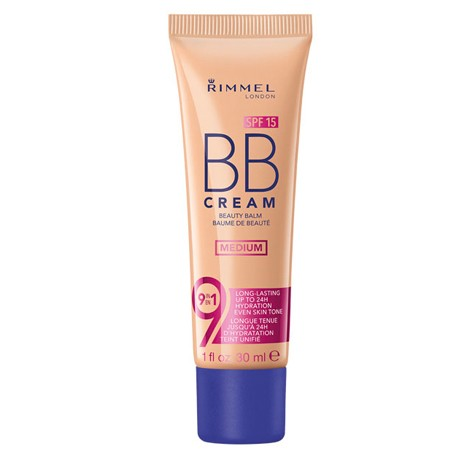 Rimmel BB Cream 9 in 1 SPF 15 - Medium 30ml