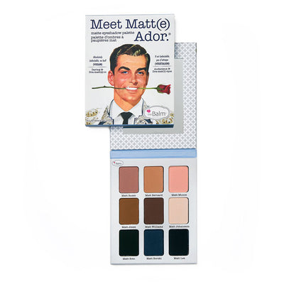 the Balm Meet Matte(e) Ador Matte Eyeshadow Palette