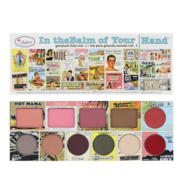 the Balm in theBalm of Your Hand Greatest Hits Volume 1 Face Palette