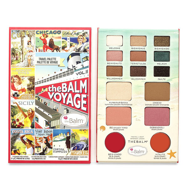 the Balm theBalm Voyage Volume 2 Face Palette