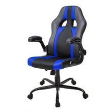 CAMANDE Executive High Back Racing Gaming Chair, PU Leather and Mesh
