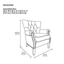 Living Accent Chair, Gray