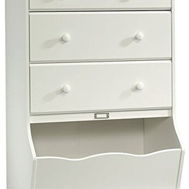 3-Drawer Chest, L: 30.08