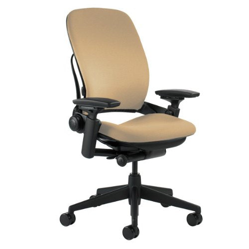 Steelcase Leap Chair, Black Fabric,FBA_46216179