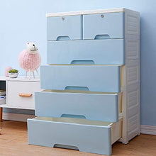 4-Drawer with 2 Cabinet Plastic Storage Bin Baby Closet Toy Box Clothes Storage Cabinet (2)